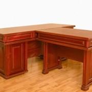 Мебель для кабинета из натурального дерева фото