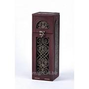 Бар сувенирный (натуральная кожа) с художественной вставкой, Art. No 111-08-01-12 фото