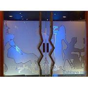 Пескоструйная обработка стекла и зеркала. фото