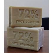 Мыло хозяйственное 200гр 72% фото