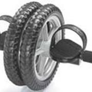 Ролик для пресса колесо для отжимания двойное с педалями DD-6130 фото