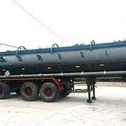 Полуприцеп-цистерна для перевозки опасных грузов фото