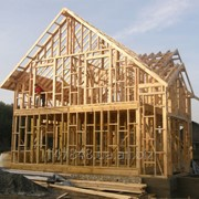Деревянные конструкции каркасного дома фото
