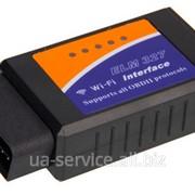 Диагностический интерфейс ELM327 Wi-Fi OBD2 EOBD Scan Tool. Поддержка IOS Android и Windows. Платформы v2.1 фото
