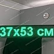 Бегущая строка зеленая 37 х 53 см фото