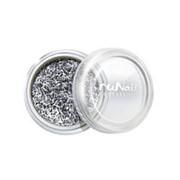 RuNail, дизайн для ногтей: стружка (серебряный) фото