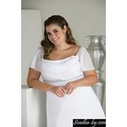 Свадебные платья для беременных до 60-го размера. фото