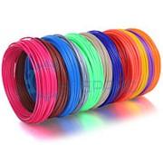 Комплект ABS пластика для 3D ручки из 12 цветов (60 метров) фото