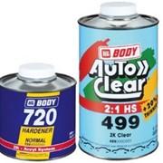 Body Автомобильный лак Body 499 HS 2:1 5 комплектов (7,5 литров) фото