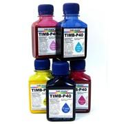 Комплект сублимационных чернил Ink-Mate TIM-P40 (6x100г.) фото