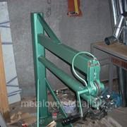 Верстак для закатывания трубы, размером 1 и 2 метра из цветного и оцинкованного метала. фото