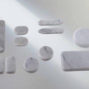Набор камней (Clap Tzu, Германия). Набор из 11 мраморных камней фото