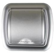 4758 Пневморозетки серии UNO silver фото