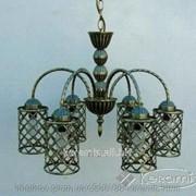 Люстра Wunderlicht Bronze Cell (YL7502AB-6P1) фото