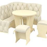 Маленький кухонный уголок с овальным столом Маэстро Консул Мини Премиум фото