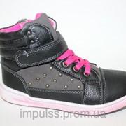 Демисезонная обувь, арт. 749, размеры 26-31 фото