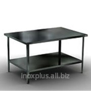 Разделочный стол с полкой (сплошная) фото