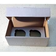 Упаковка на 2 кекса фото