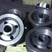 Крановое колесо двухребордное К2Р 200x50 фото
