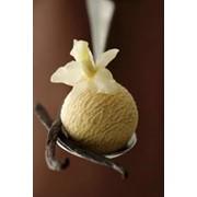 Мороженое ванильное. фото