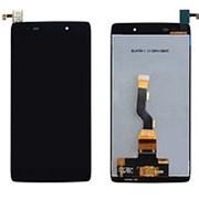Дисплей для Alcatel OneTouch Idol 3 6039Y черный в сборе с тачскрином фото