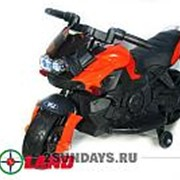 Детский электромотоцикл Moto JC 918 красный фото