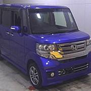 Микровэн HONDA N BOX PLUS кузов JF1 минивэн для пассажира колясочника гв 2016 пробег 21 т.км синий фото