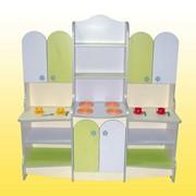 Кухня детская игровая, 1318х440х1356 мм., Код: 13818 фото