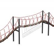 Гимнастический комплекс Канатный балансир тип 2 фото