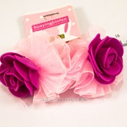 Резинки (4 см) детская ''Цветок с жемчугом'' 203265(5) фото