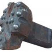Коронка для пневмоударного бурения КНШ-155/П-155 (шпонка) фото