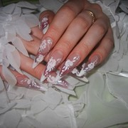Наращивание ногтей гелем , акрилом. маникюр, педикюр, Sellac, дизайн ногтей, наращивание ресниц, биозавивка ресниц . м.Шулявская , ул. Выборгская 70. фото