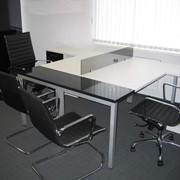 Офисная мебель по индивидуальному проекту фото
