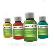 Колер паста для колеровки водно-дисперсионных и масляных красок 0,1 л ТМ Kolorit бирюзовый фото