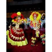 Костюмы для шоу, театров. Цирковые костюмы. Головные уборы. фото