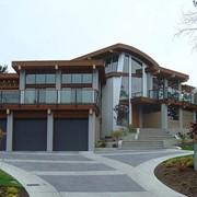 Дома и домокомплекты со сруба и клееного и профилированого бруса фото