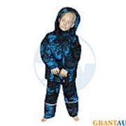 Костюм зимний МОРОЗКО размер 122 детский голубой фото