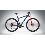 Велосипед Cube Analog Disk 29 2014 blue/flashred фото