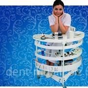 Столик ПАНОК-1 овальный фото