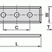 Сменные ножи с 4х сторонней заточкой 50×12×1,7 С 37 мм Ceratizit 80419334 фото