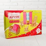 Мебель для больших кукол до 30 см «Детская» M-007 фото