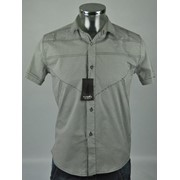 Рубашка мужская (95% хлопок 5% эластан) р.ряд. 46-48-50-52 Артикул: 6009 фото