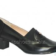 Туфли женские 106, черный фото