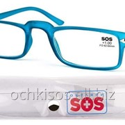 Очки для чтения SOS унисекс модель P 15079 ф Rubber Blue фото