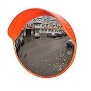 Зеркало сферическое с козырьком ЗС-800 фото