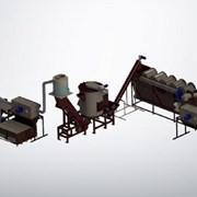 Готовая линия переработки пленки ПНД, ПВД, ПП  фото