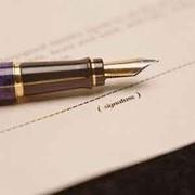 Составление хозяйственных договоров и других документов правового характера фото