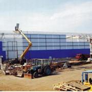 Монтаж таможенного склада фото