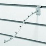 Кронштейн изогнутый с 7-ю шаровыми опорами(тонкий),хром фото