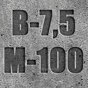 Бетон товарный М-100 П3 фото